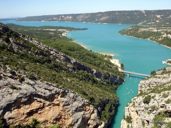 provence private tour sainte croix lake 1