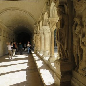 provence private tour inside arles cathedral