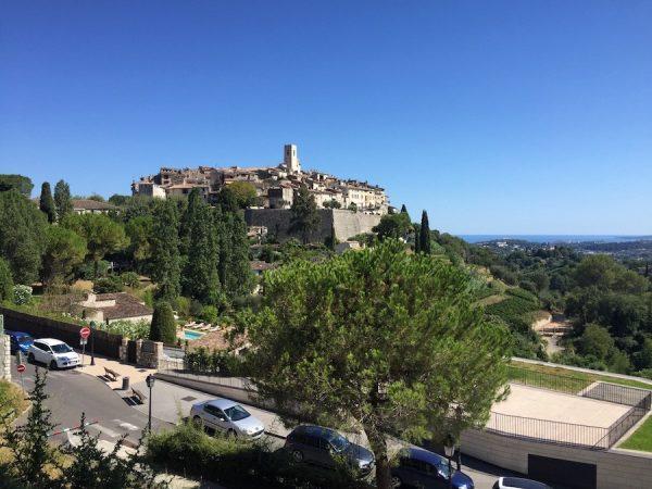 stop in saint paul de vence provence