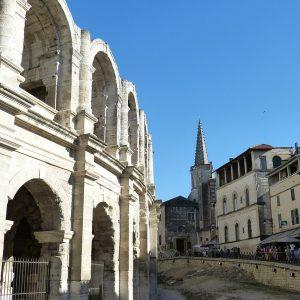 Arles Walking Tour, visit arles, aix en provence day trip