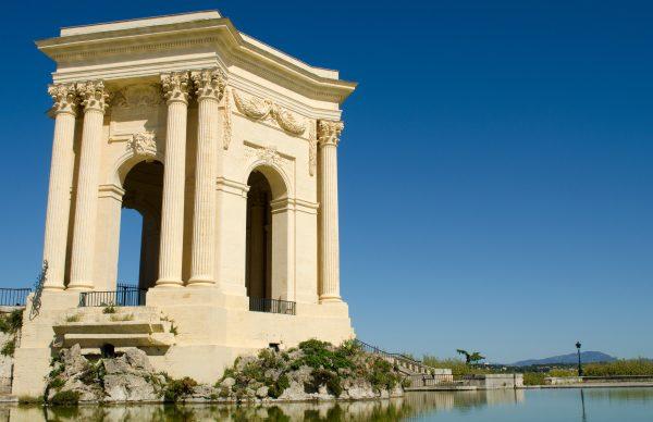 Montpellier Walking Tour Water Castle