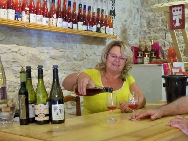 Tavel Wine Tour, Tavel Wine Tasting