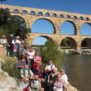 Pont du Gard group excursion