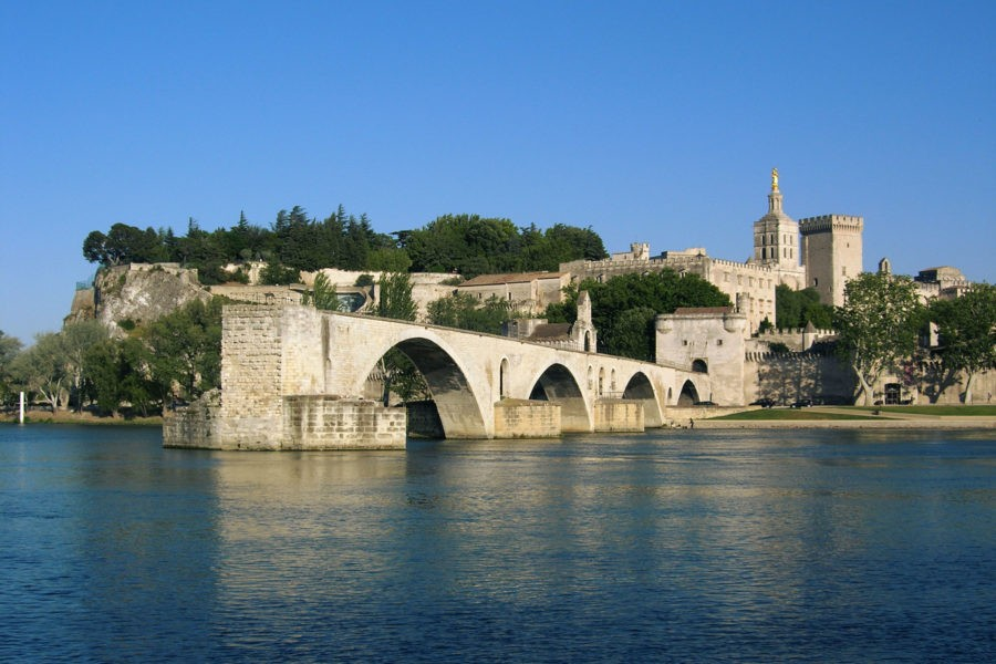 Avignon Pont Du Gard Entrance Included In Pope Palace