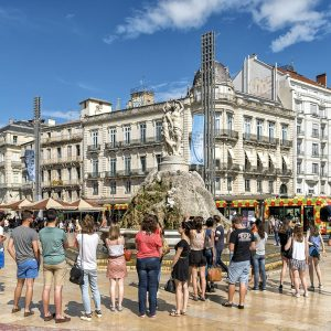 Montpellier Walking Tour