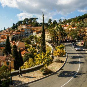 provence private tour bormes les mimosas village